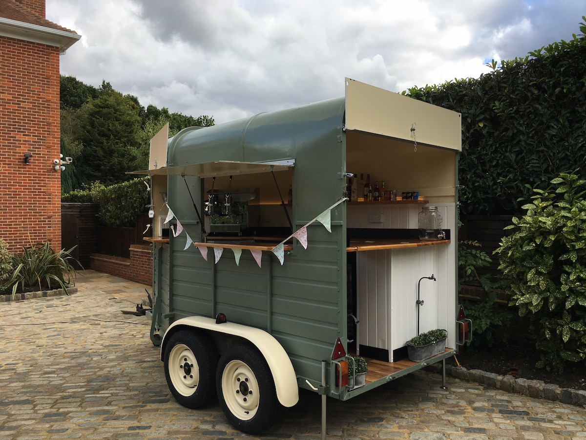 The Drinks Box Gallery Unique Converted Horse Box Mobile Bar For Hire