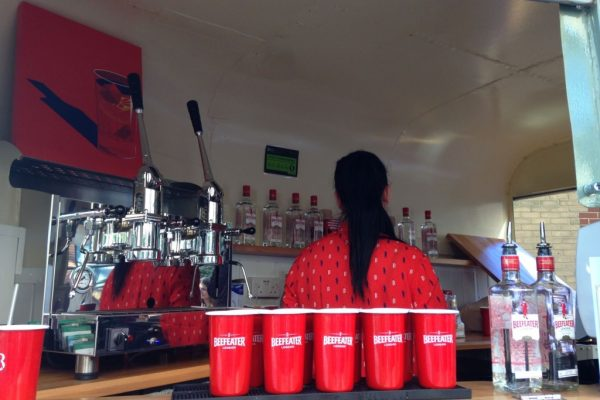 Mobile Horse Trailer Bar - Beefeater Corporate Event 2