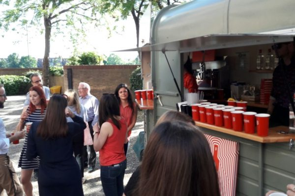 Mobile Horse Trailer Bar - Beefeater Corporate Event 6