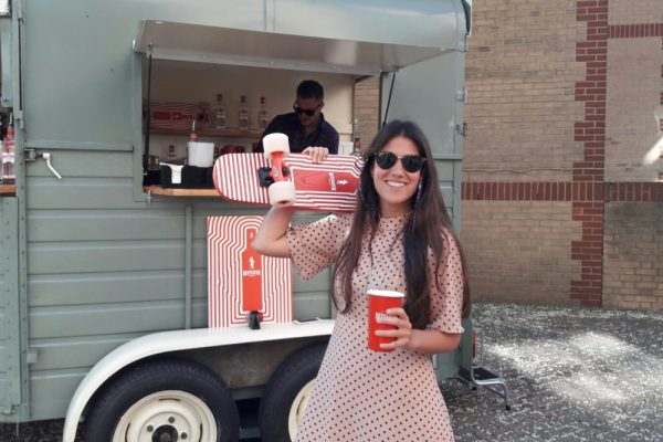 Mobile Horse Trailer Bar - Beefeater Corporate Event 7