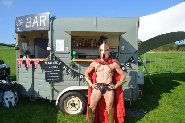 Mobile Horse Bar - Spartan Race - Marston Lodge 7