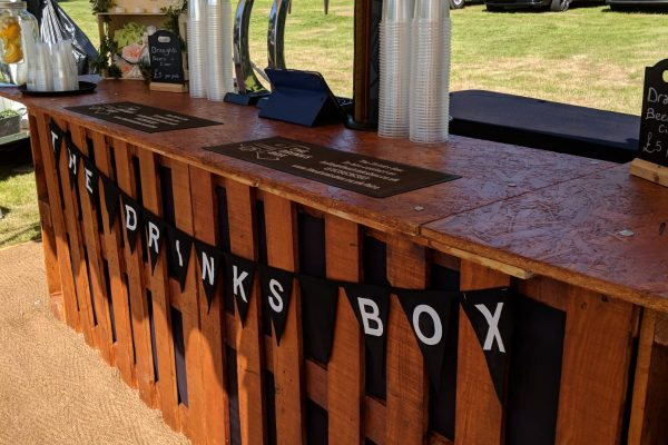 8. The Drinks Box Mobile Bar For Weddings and Events