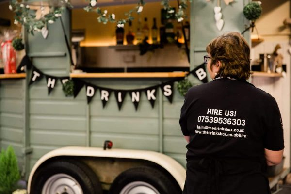 The Drinks Box - Converted Horse Trailer Mobile Bar Hire 15