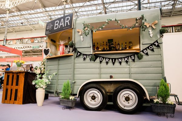 The Drinks Box - Converted Horse Trailer Mobile Bar Hire 16
