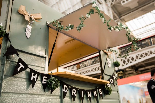 The Drinks Box - Converted Horse Trailer Mobile Bar Hire 2