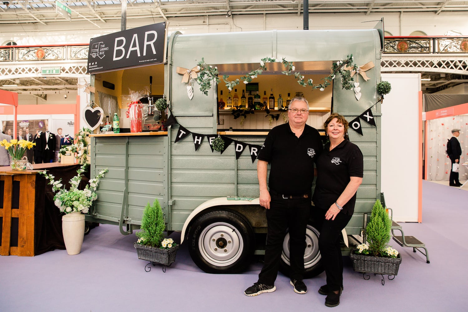 Mobile Bar For Hire Converted From A 1970 S Horse Box London Uk