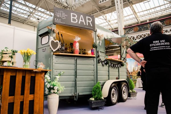 The Drinks Box - Converted Horse Trailer Mobile Bar Hire 8